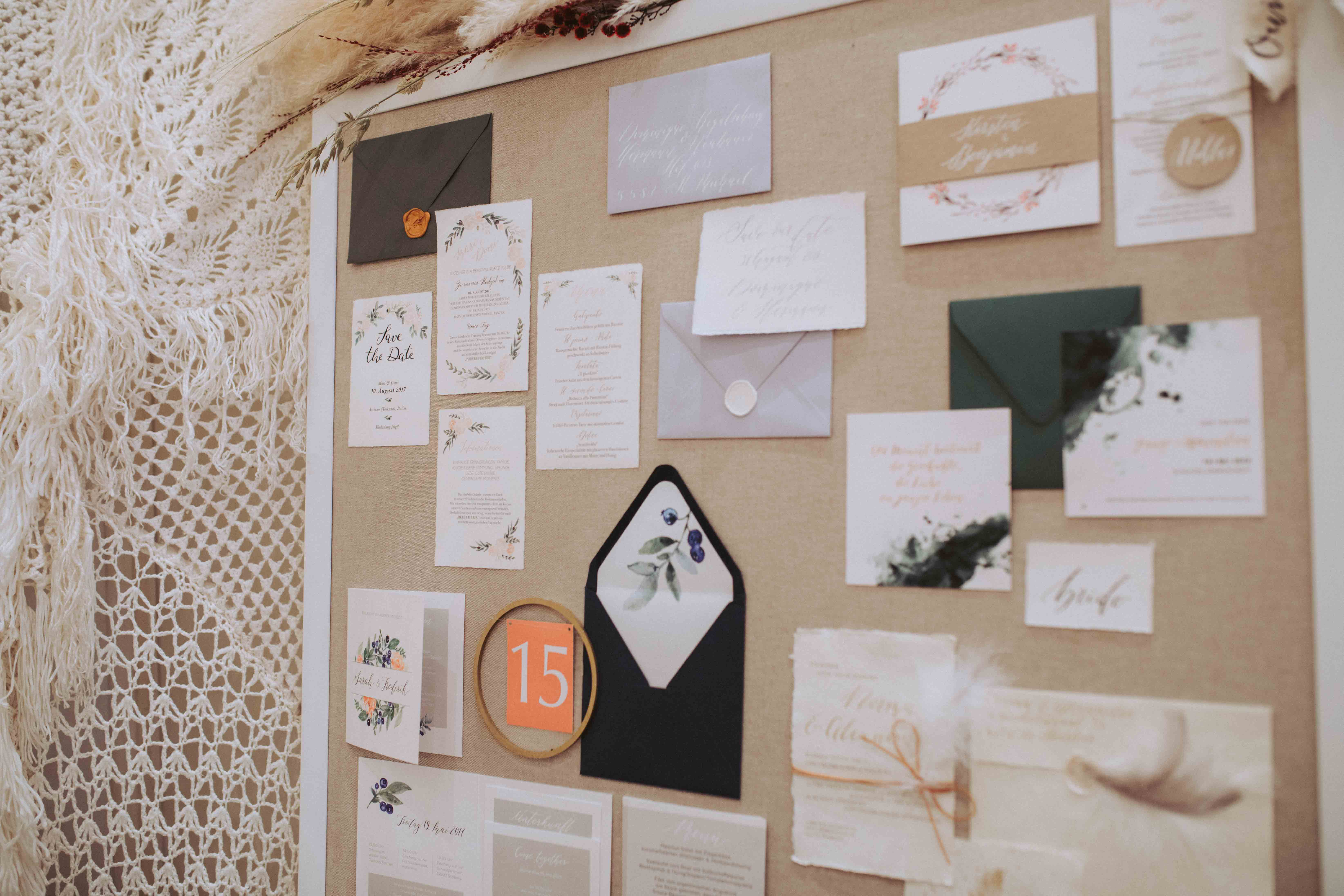 Vintage Wedding Papeterie