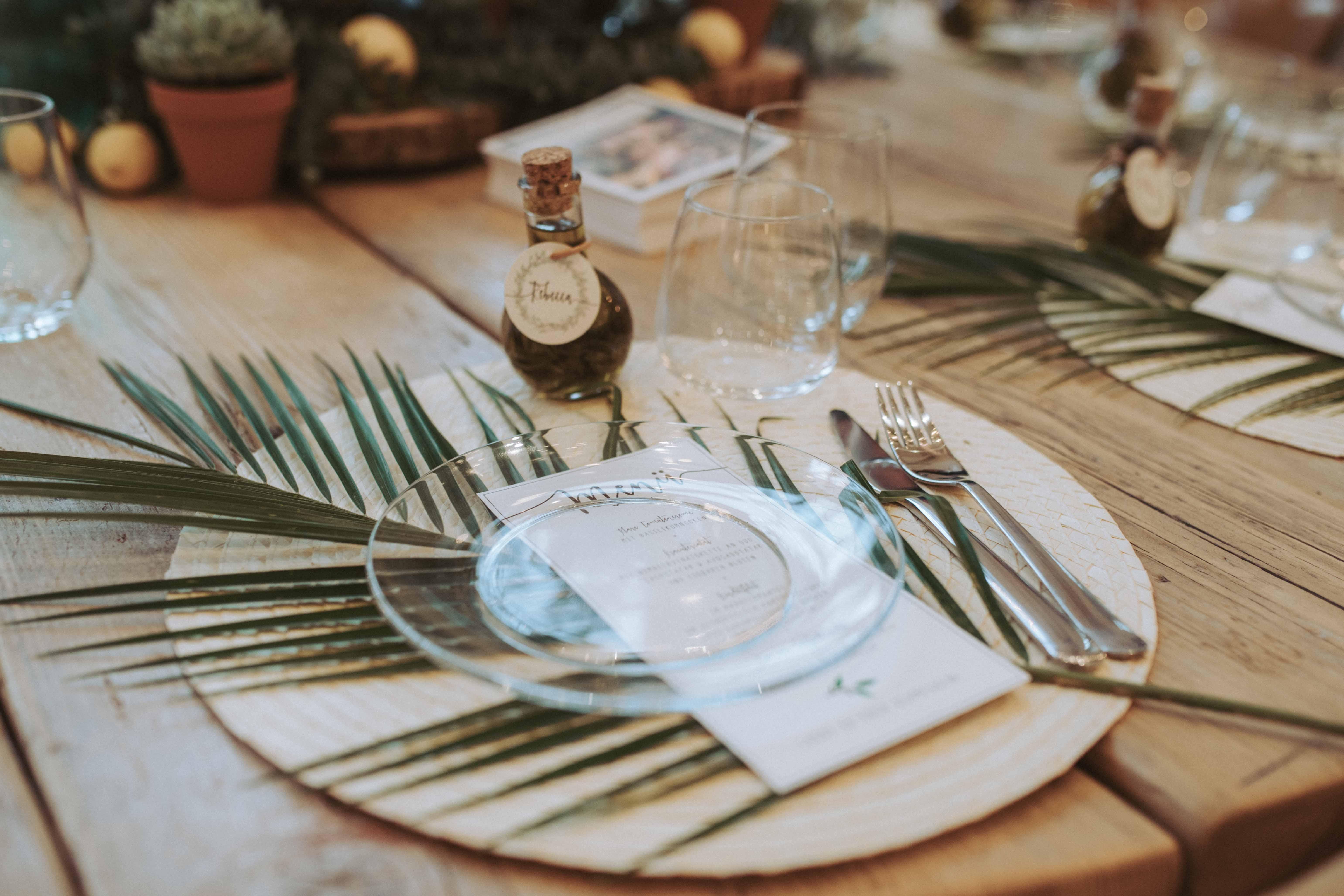 Vintage Wedding Tischdeko