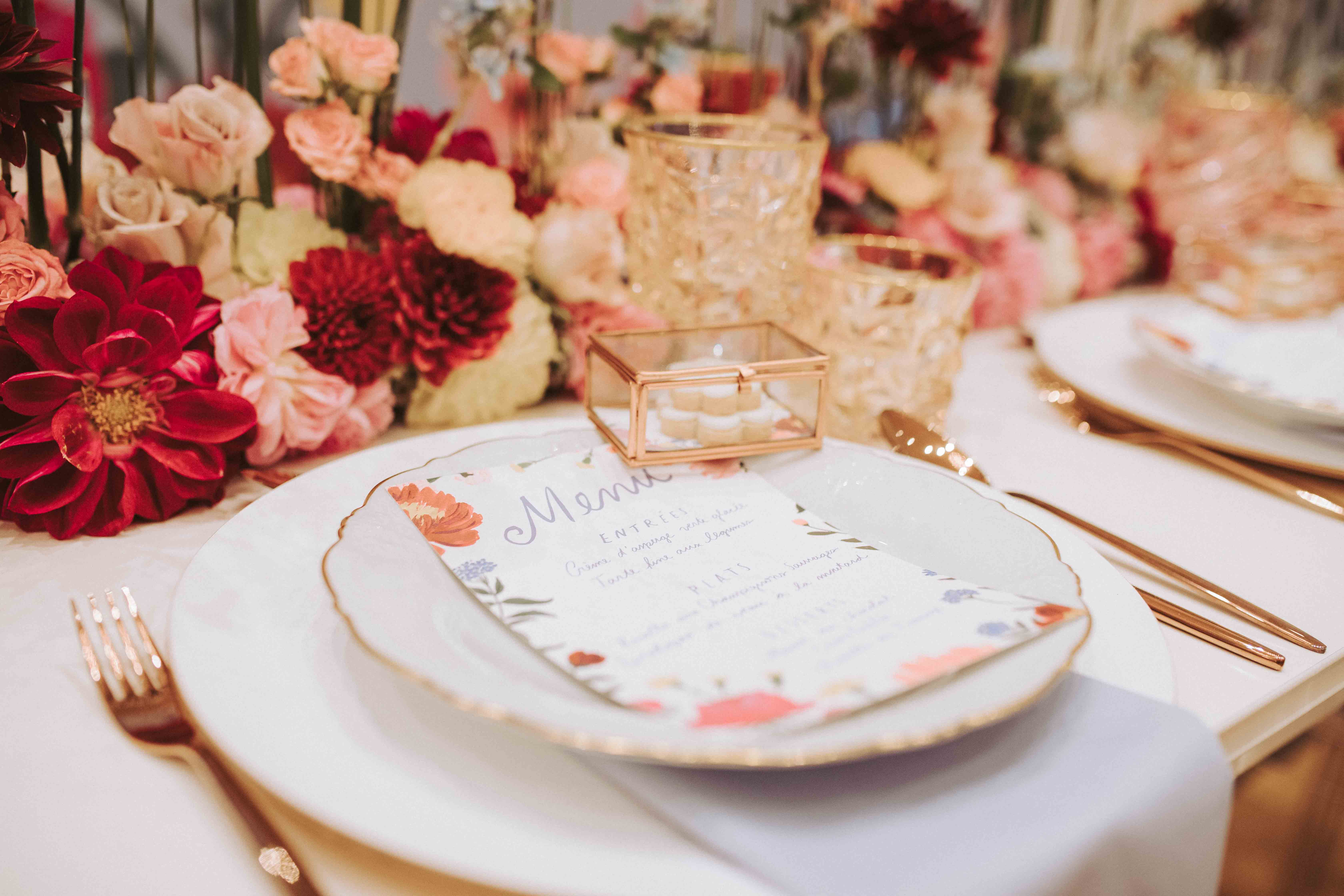 Vintage Wedding 2018 Tischdekoration
