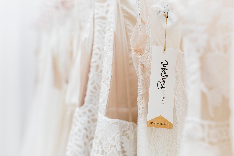 Detailansicht Hochzeitskleider von Victoria Rüsche